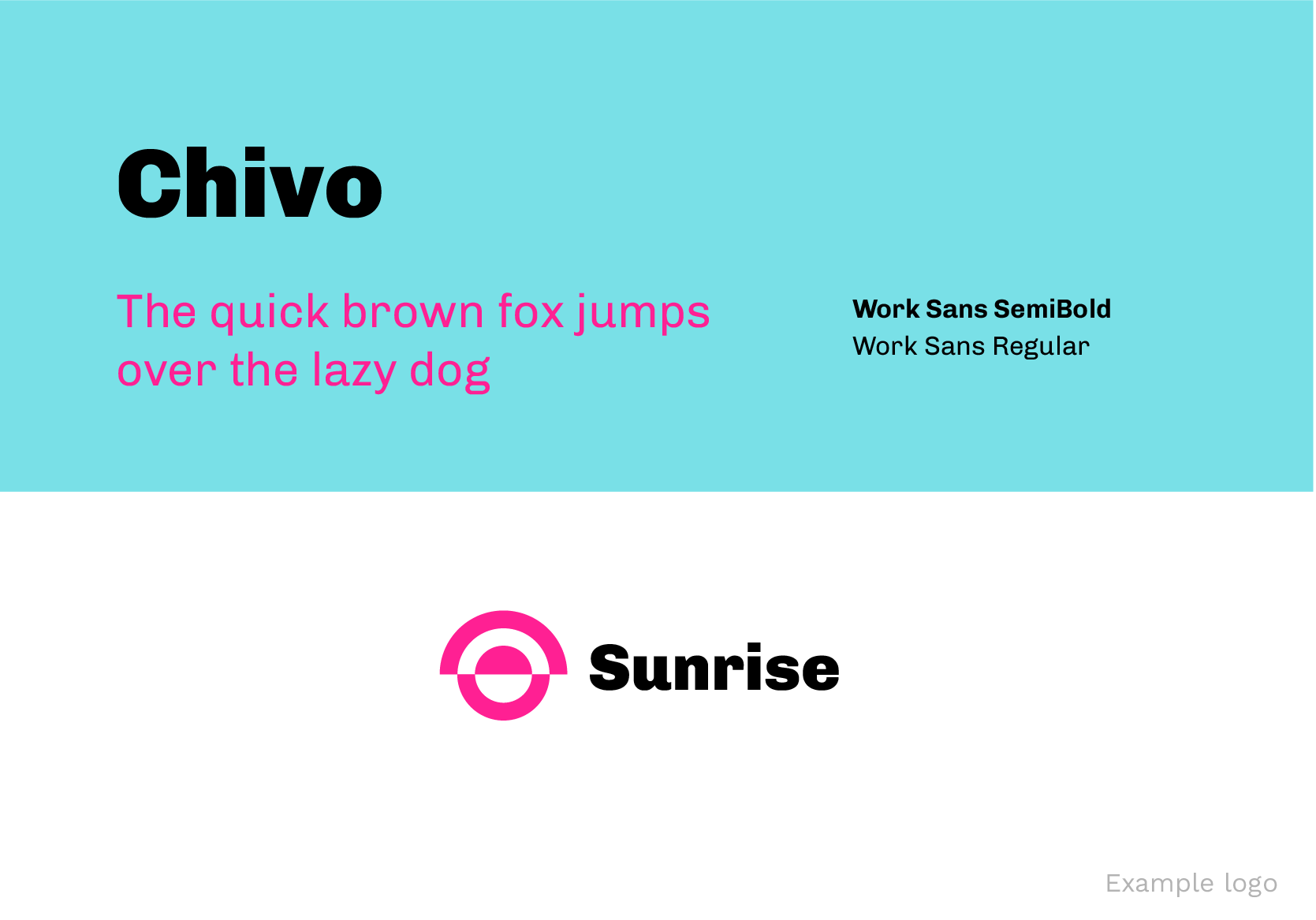 Chivo Best Google Fonts for Logos
