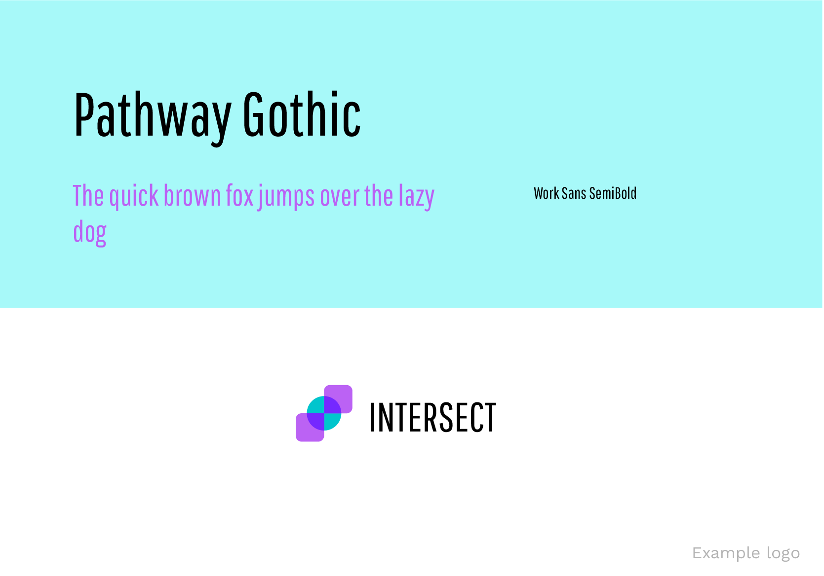 Pathway gothic google fonts for logos