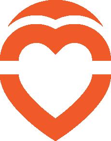 Pin Heart Logo Bootstrap Logos