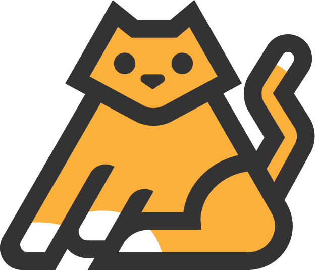Kitty Cat Logo Bootstrap Logos