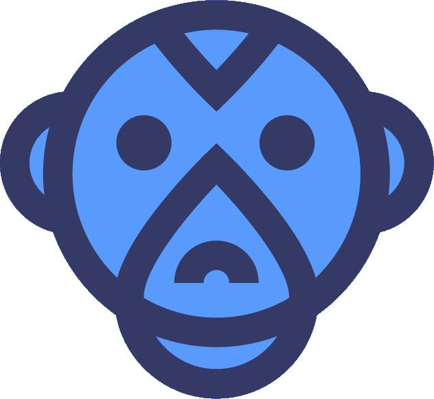 Monkey Logo Download - Bootstrap Logos