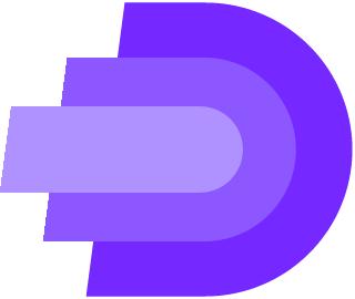 D Layered Logo Bootstrap Logos